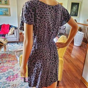 Xhilaration Dresses - 🍒3/$25 Cheetah print t-shirt dress with pockets!